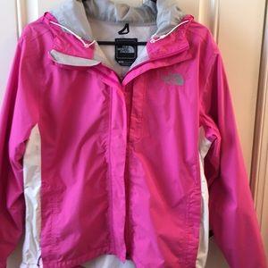 The North Face rain coat jacket medium
